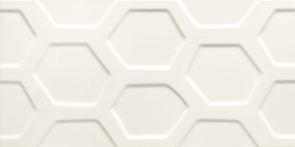 Tubadzin All In White 1 SRT 59,8x29,8 Fürdőszoba csempe