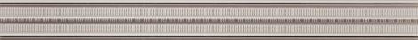 TUBADZIN ABISSO GREY 74,8x7,2 listwa