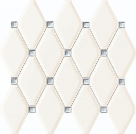 TUBADZIN ABISSO WHITE  27x29,8 mozaik