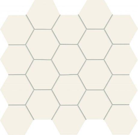 Tubadzin All In White ,White 30,6x28,2 Fürdőszoba Mozaik