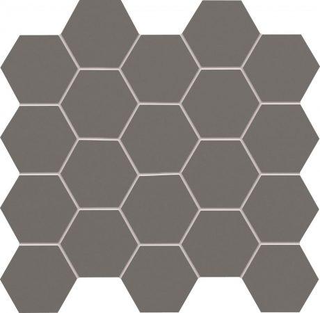 Tubadzin All In White ,Grey 30,6x28,2 Fürdőszoba Mozaik