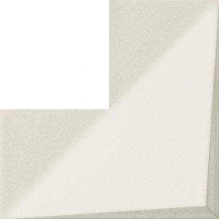 Tubadzin Coma White STR 20x20 csempe