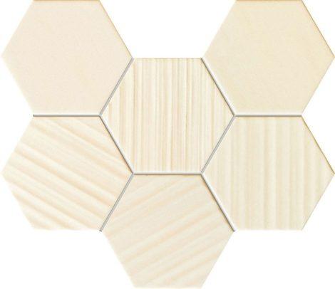Tubadzin Horizon HEX Ivory 28,9x22,1 mozaik