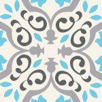 Tubadzin Unit Plus Patch White 22,3x22,3 dekor 20db különböző minták egy csomagban